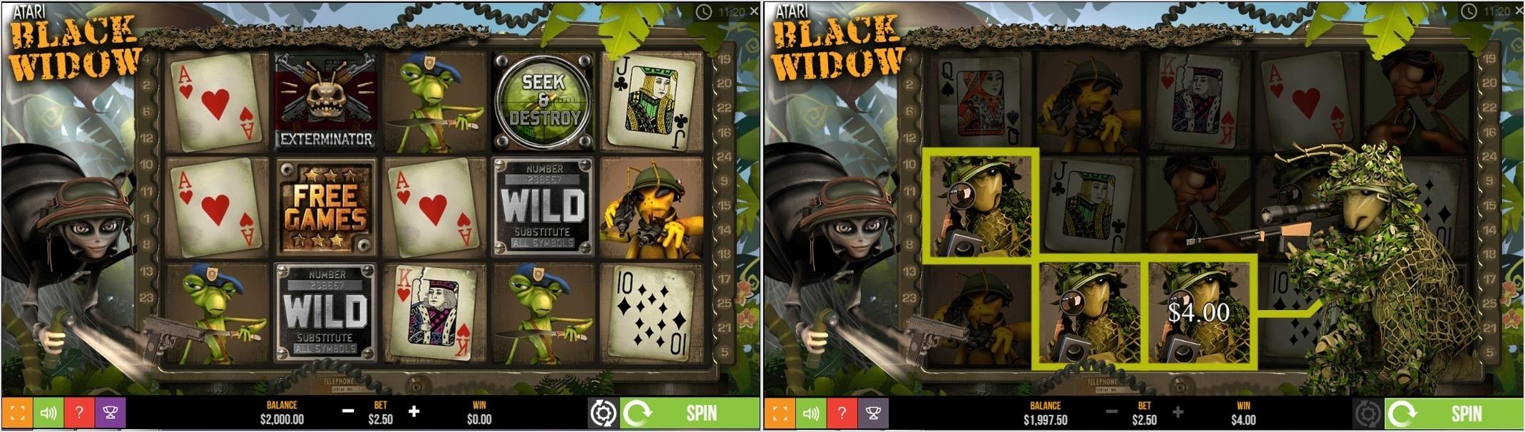Black Widow Softgamings