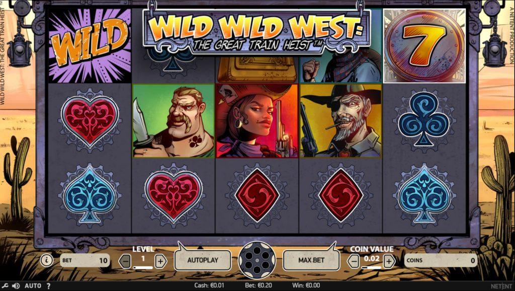 wild wild west screenshot