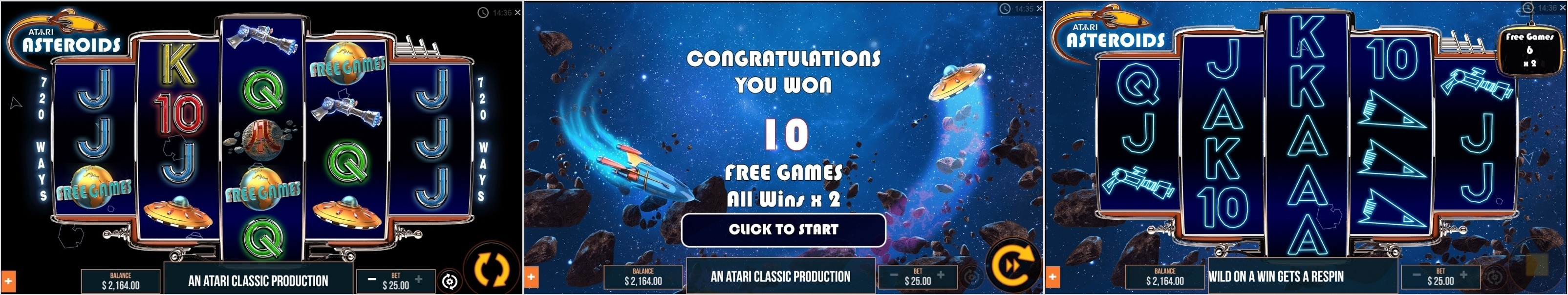Asteroids 2 Softgamings