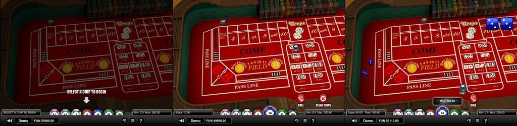 craps softgamings