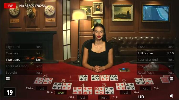 Bet on Poker - BetGames Games | SoftGamings
