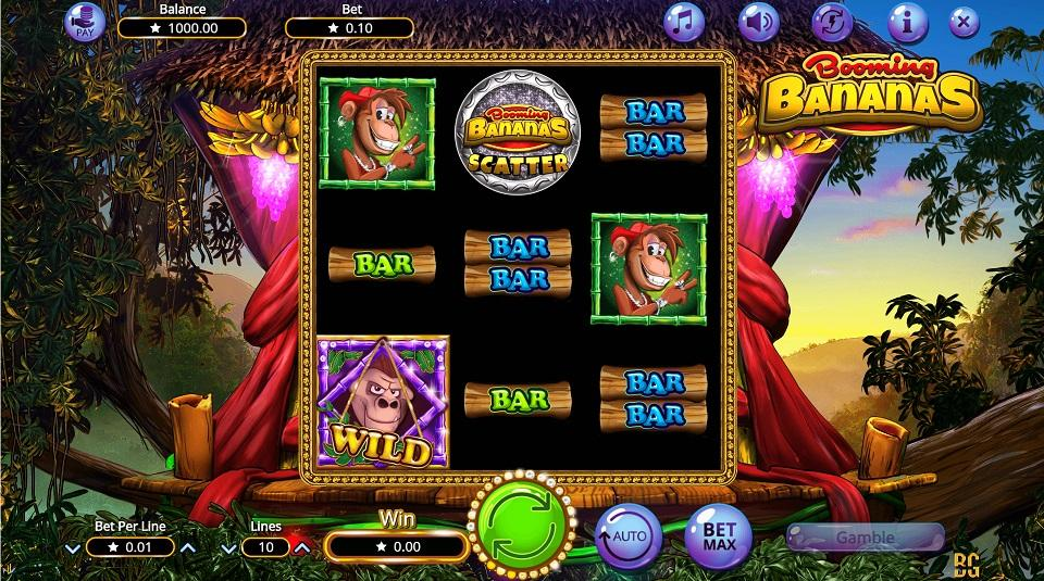 Booming bananas slot SoftGamings