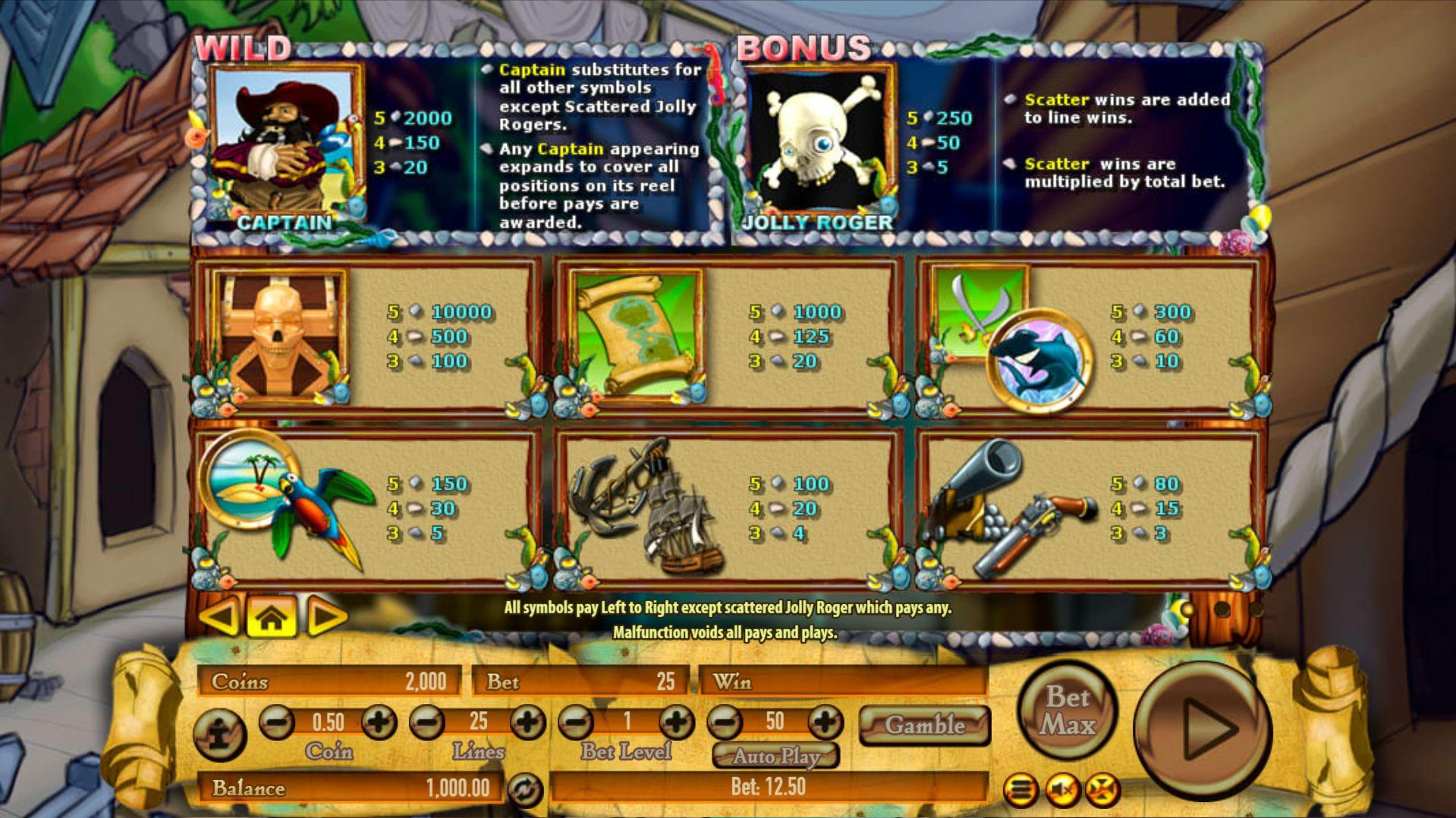 Spiele Pirate On The Edge - Video Slots Online