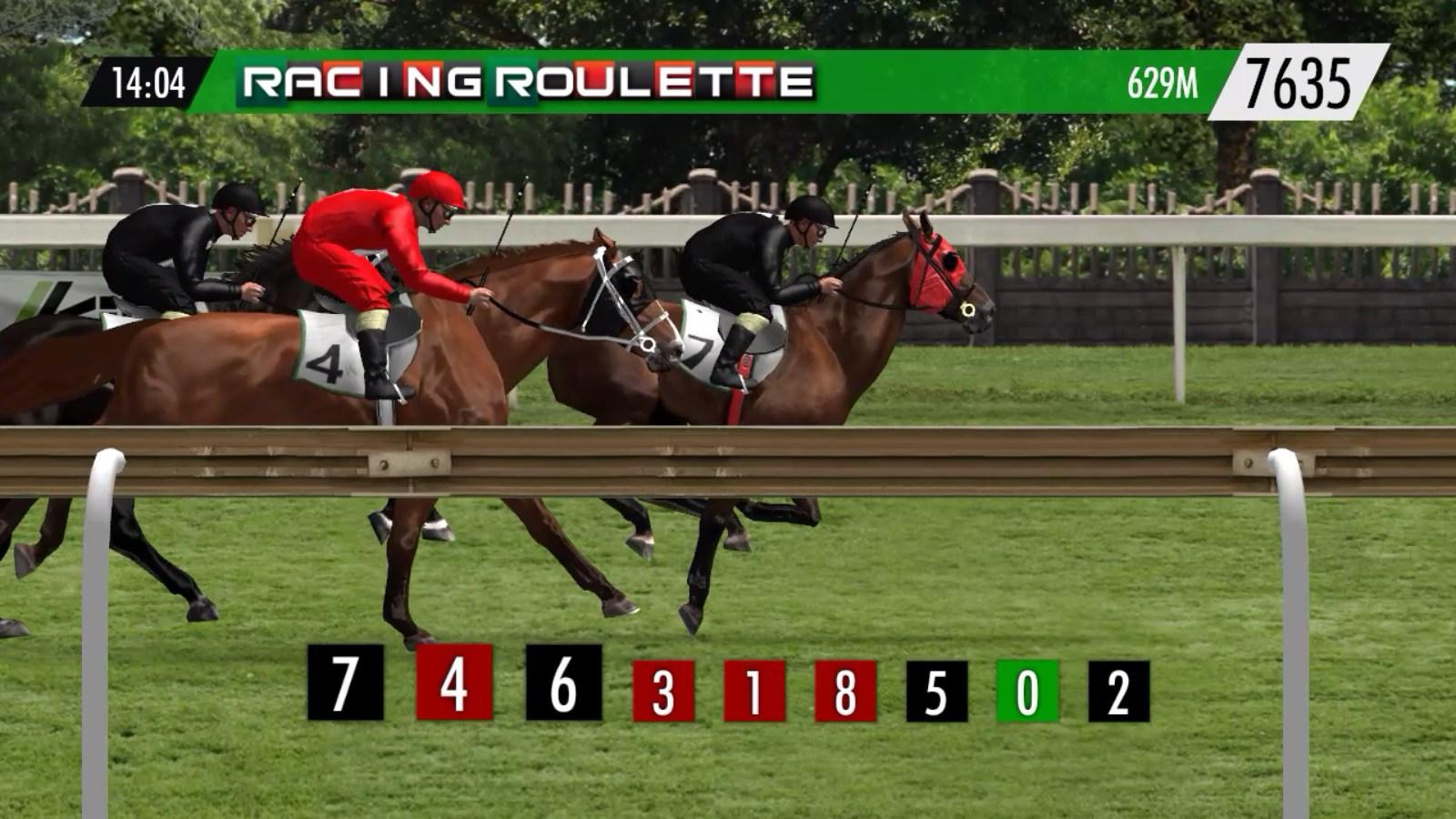 Horse-Racing-Roulette Kiron SoftGamings