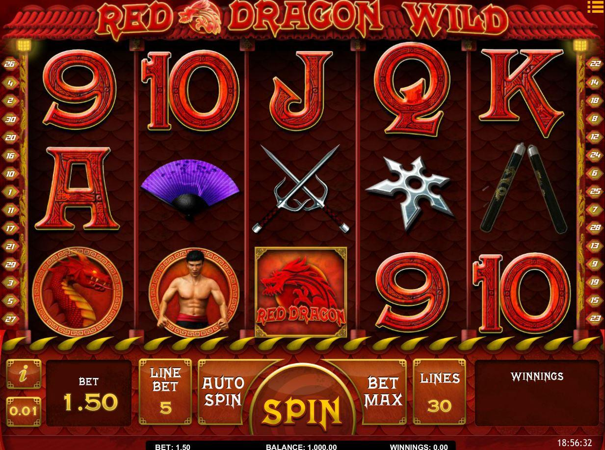 SoftGamings IsoftBet Red Dragon