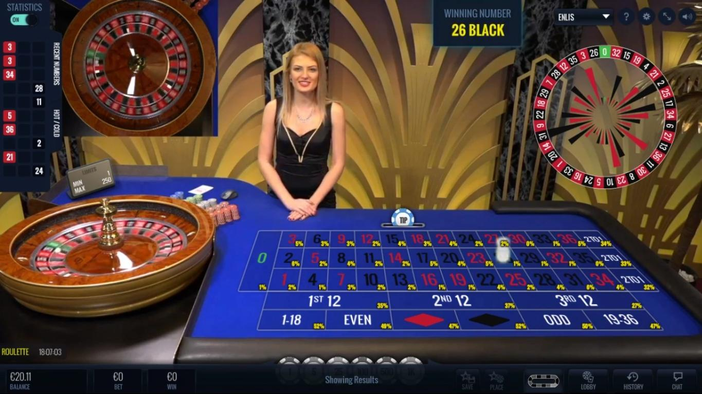 Live Roulette Lucky Streak SoftGamings