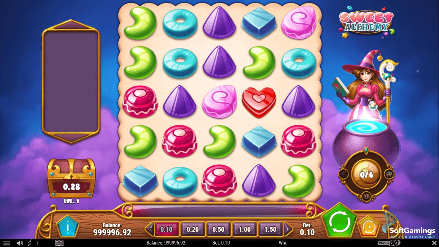 Playn_Go_SweetAlchemy1 Play'n Go запускає ігровий слот Sweet Alchemy