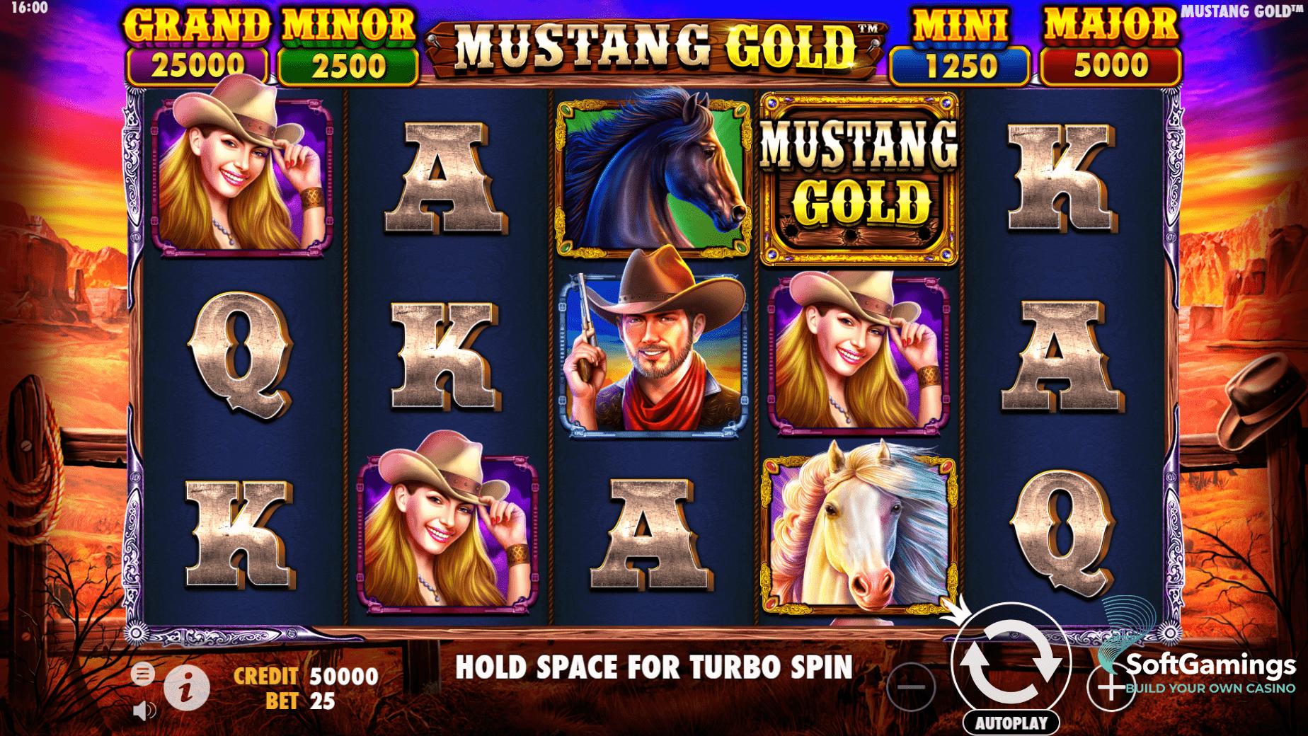 Mustang Gold - PragmaticPlay
