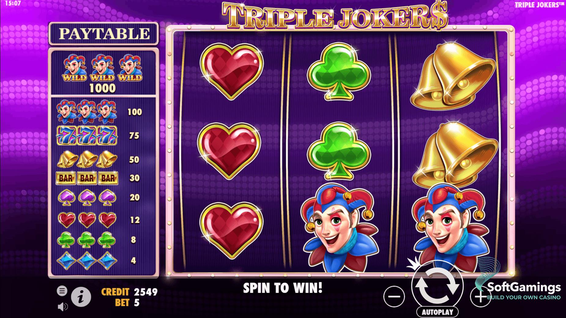 Ставок triple jokers тройной джокер игровой автомат