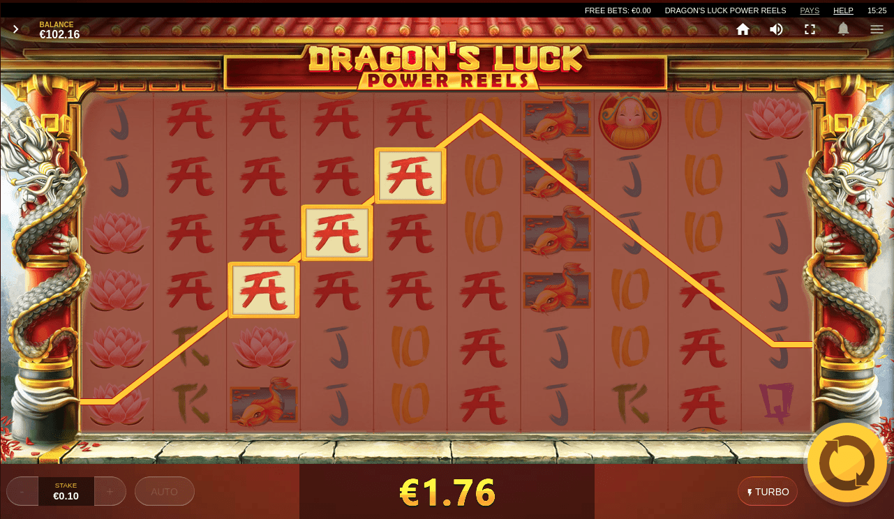 Dragons Luck Red Tiger Gaming