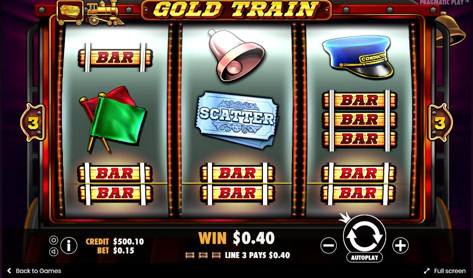 gold train softgamings