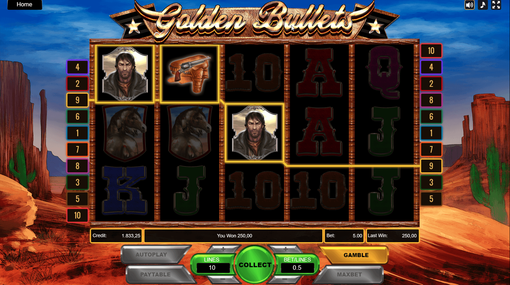 WeAreCasino Golden Bullets