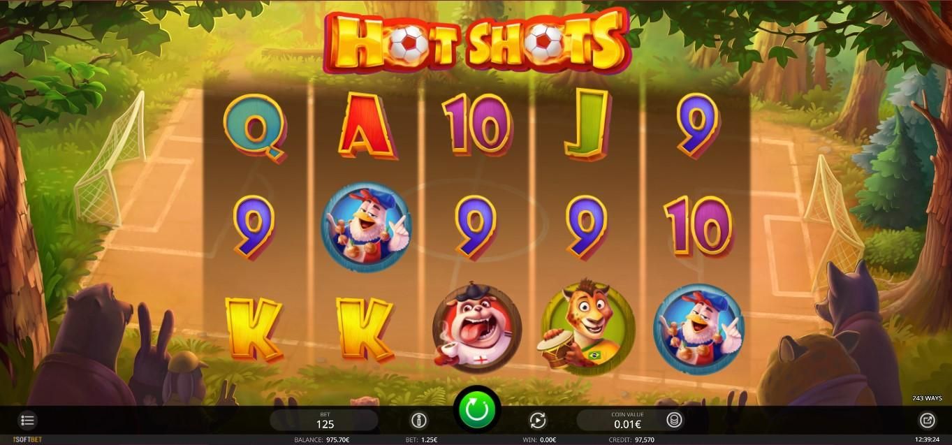 IsoftBet Hot Shots SoftGamings