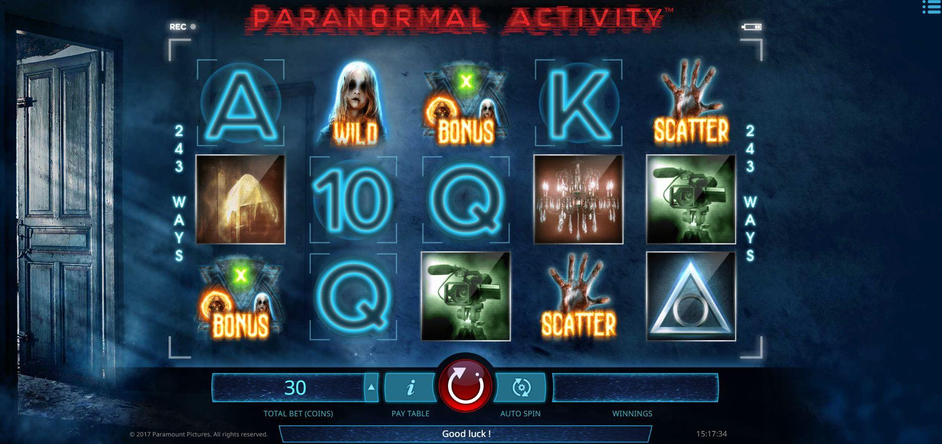IsoftBet Paranormal Activity SoftGamings