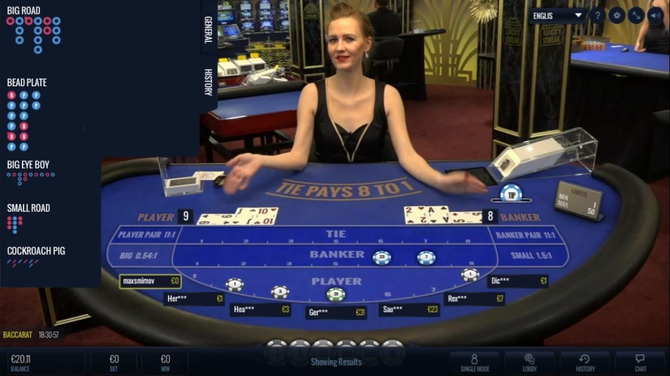 Baccarat Lucky Streak SoftGamings