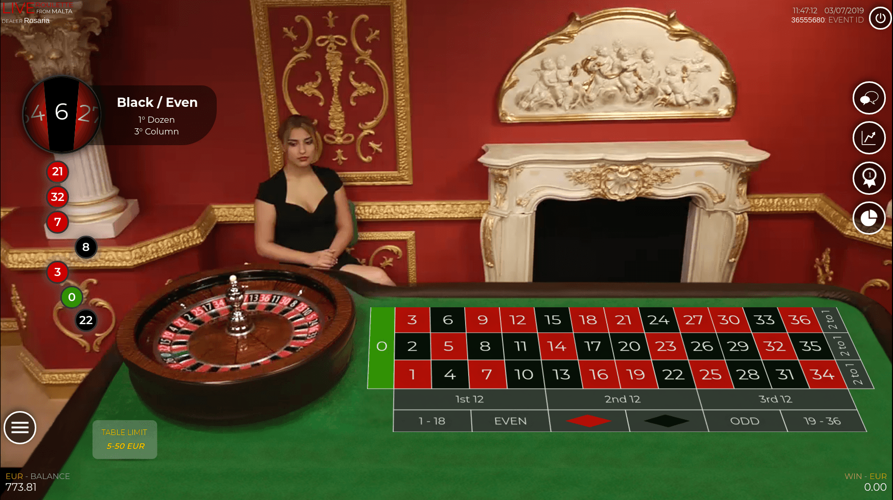 Live Roulette Macao Medialive