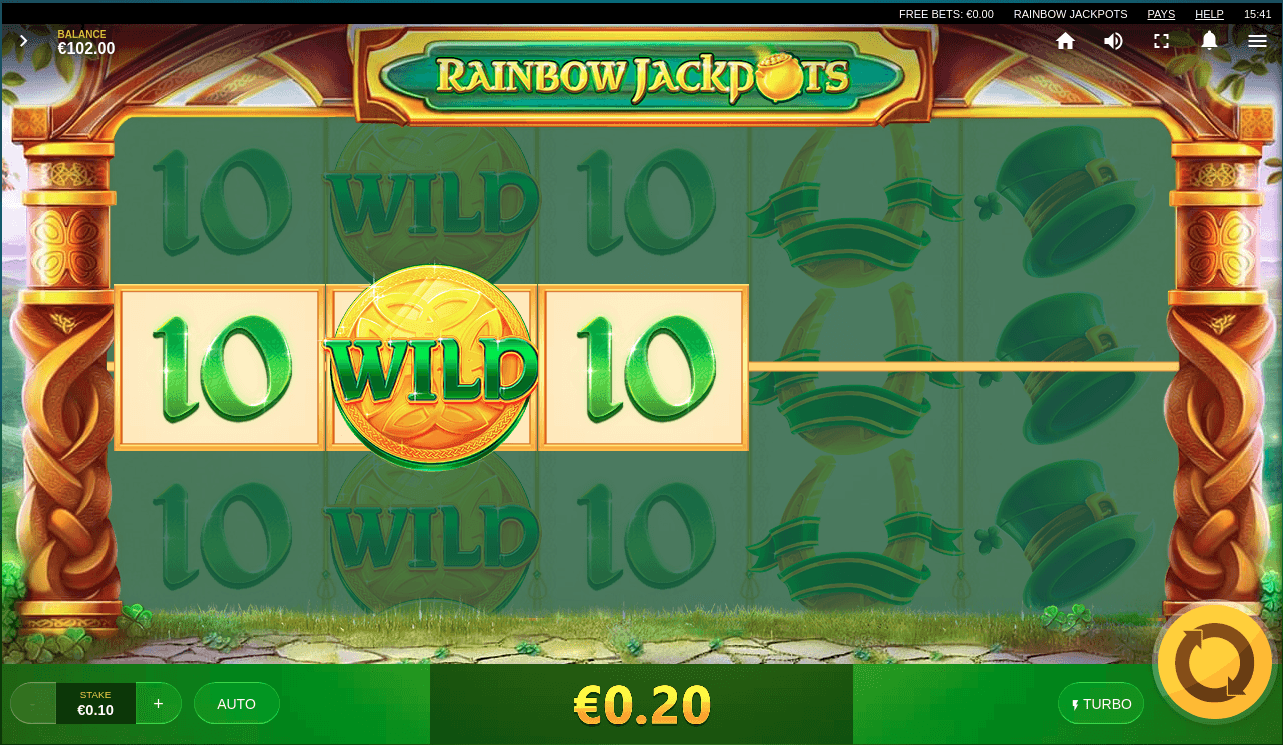 Rainbow Jackpots Red Tiger Gaming