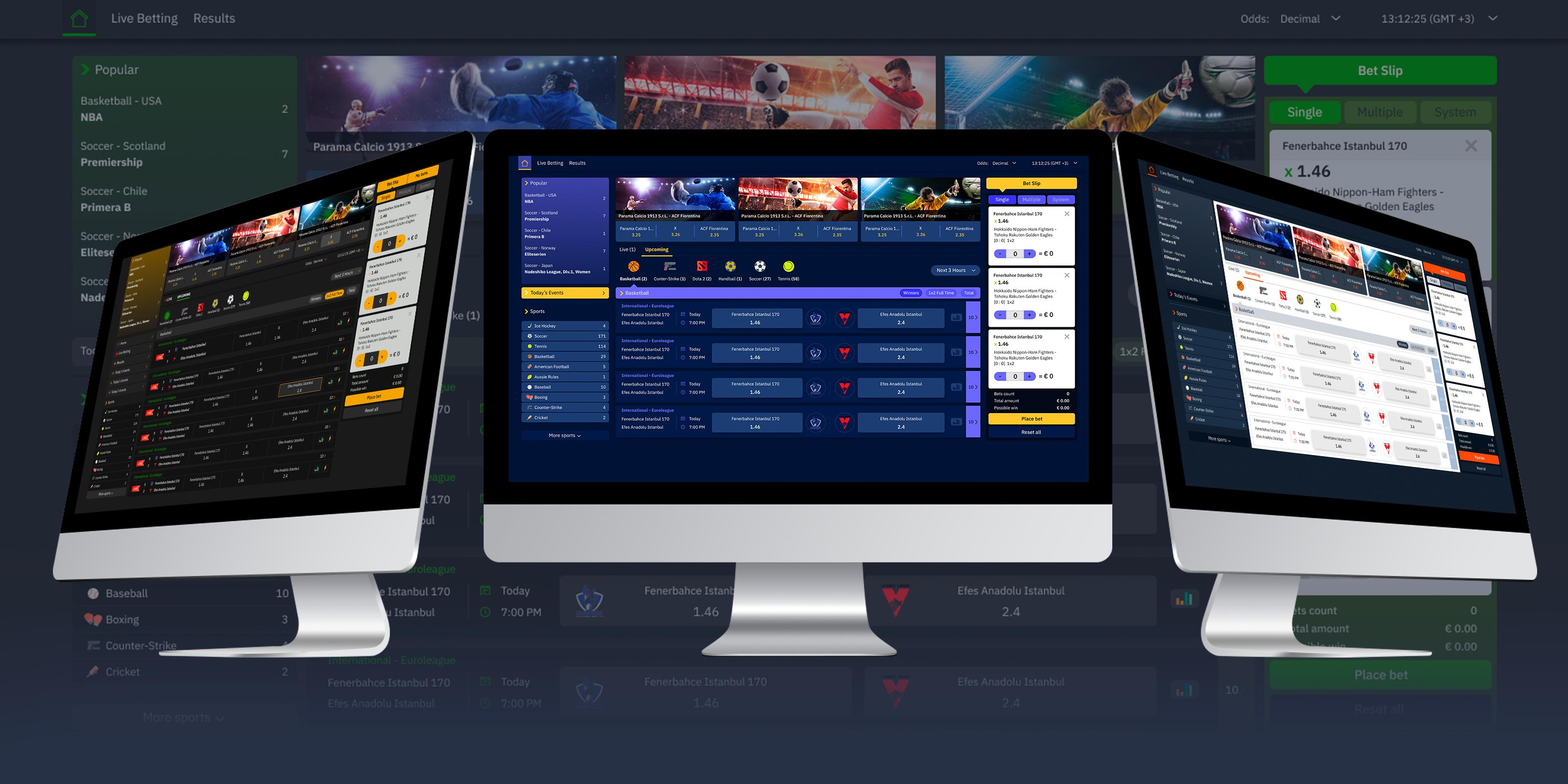 sports betting software provider
