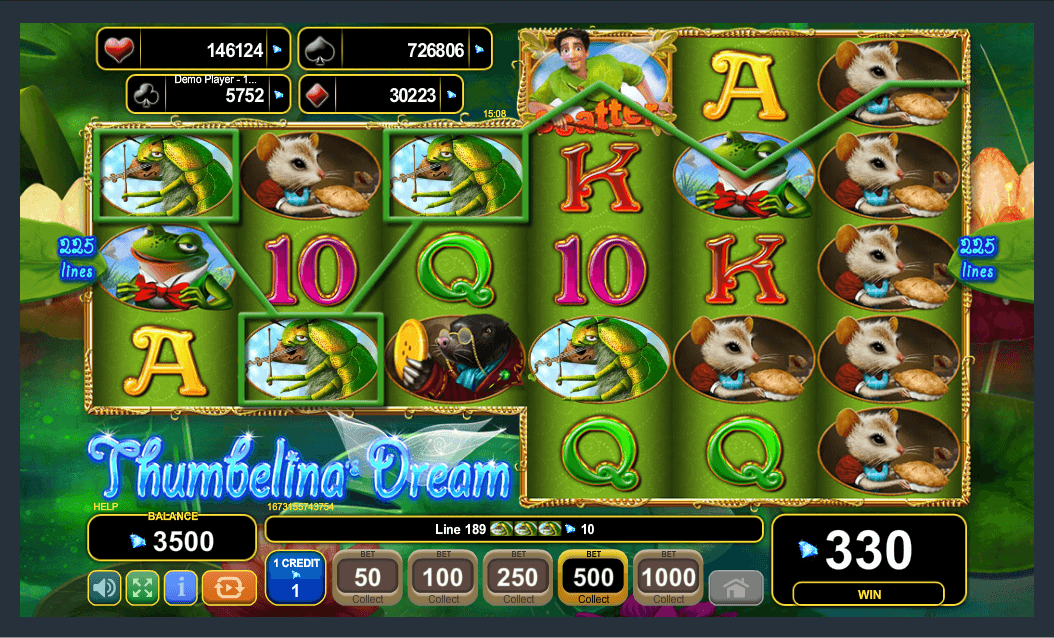 EGT Interactive Thumbelina's Dream